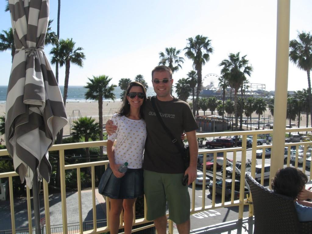 No hotel em Santa Mônica
