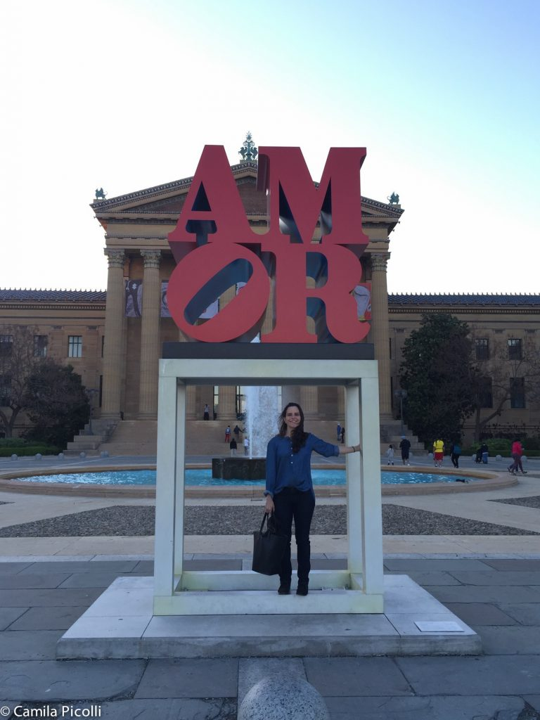 AMOR Sculpture - Philadelphia Art Museum