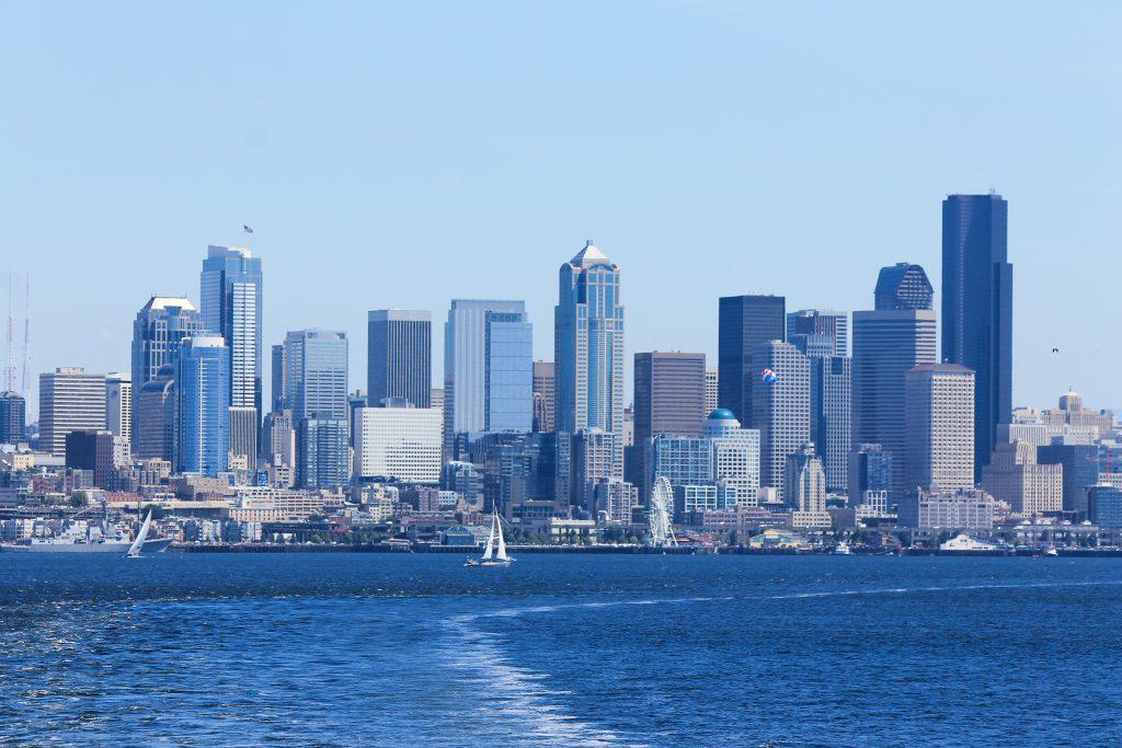 Vista de Seattle - balsa para Bainbridge Island_1