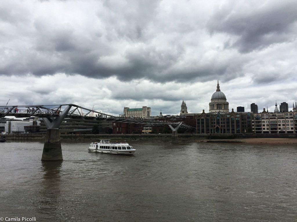 Primeira vez em Londres