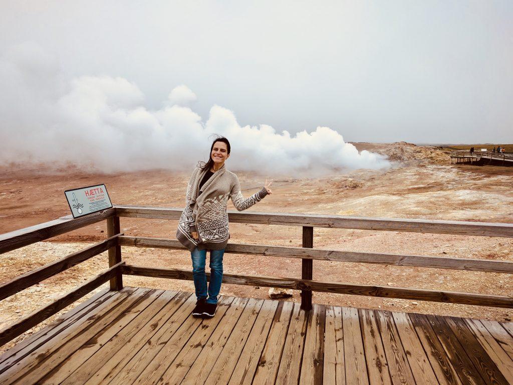 Gunnuhver - Islândia