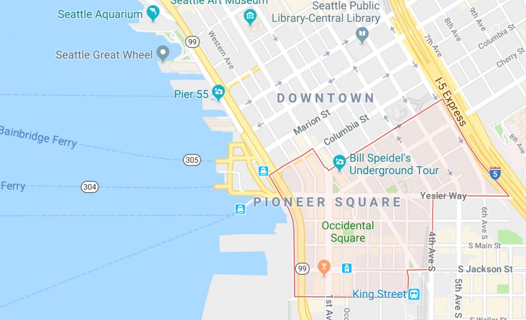 Onde ficar em Seattle - Pioneer Square