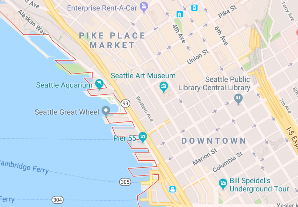 Onde ficar em Seattle - Downtown